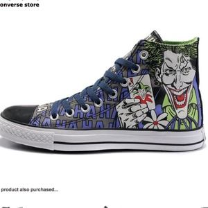 Converse X DC Comics Batman Vs Joker Haha